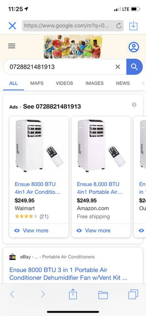Ensue air conditioner dehumidifier for Sale in Irwindale, CA
