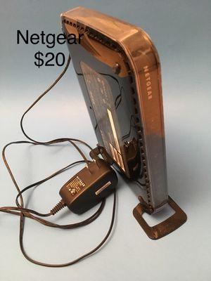 Netgear, good condition, Wireless Router, WIFI, Modem, for Sale in Redmond, WA