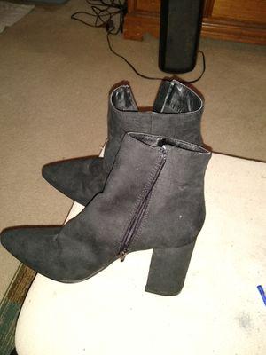 Black booties size 9 for Sale in Alexandria, VA