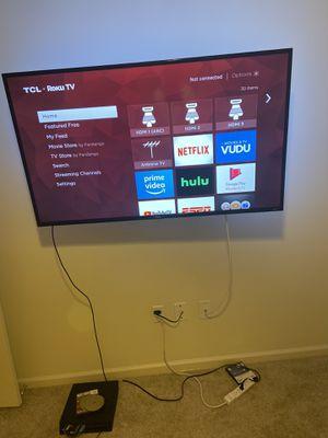 55 inch tlc roku smart tv for Sale in Atlanta, GA