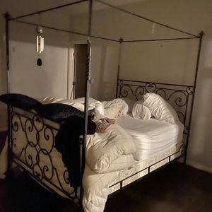 Canopi Bed With Mattress for Sale in Chicago, IL