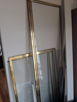 Free glass shower door and surround pieces for Sale in Seattle, WA