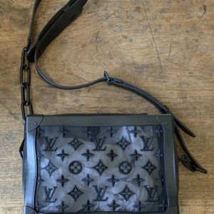Louis Vuitton Soft Trunk Bag Monogram See Through Mesh Black Limited Rare! for Sale in San Gabriel, CA