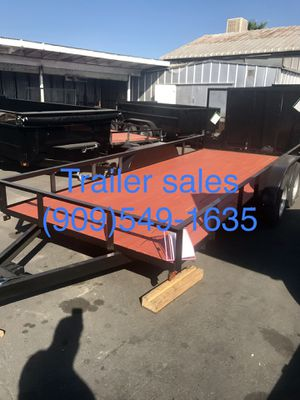 Brand new 8.5x16x1 utility trailer for Sale in Temecula, CA