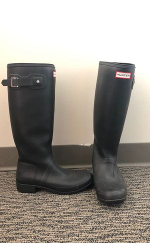 Black Hunter Rain Boots for Sale in Wellesley, MA