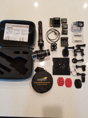 GoPro 4K UHD Hero 4 Black & G4S gimbal +extras for Sale in Las Vegas, NV