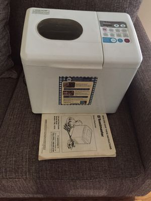 Like new ToastMaster Bread maker w manual book for Sale in Spring Valley, CA