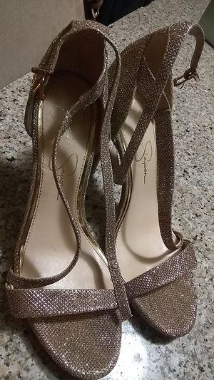 Jessica Simpson Gold High Heels for Sale in Virginia Beach, VA