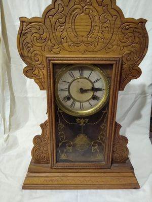 Waterbury Antique Mantle Clock for Sale in Seattle, WA