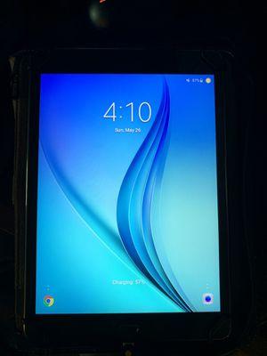 Samsung Galaxy Tab A with leather zip folio for Sale in Lynchburg, VA