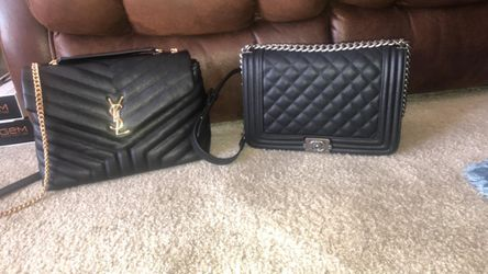 chanel boy bag & ysl for Sale in Washington,  DC