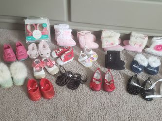 Baby Girl Shoes Newborn and Up for Sale in Lynnwood,  WA