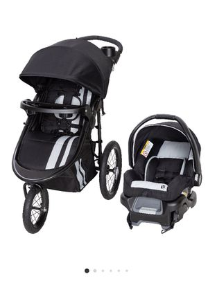 Baby trend jogging stroller and car seat for Sale in Buffalo, NY
