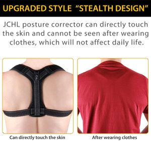 Back Posture Corrector for Women and Men with Underarm Pads Shoulder Upper Back Support Improve Bad Posture, relieve pain from Neck Back Shoulder for Sale in New York, NY