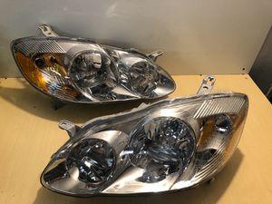 FOR 03-08 TOYOTA COROLLA Headlights for Sale in Santa Clarita, CA