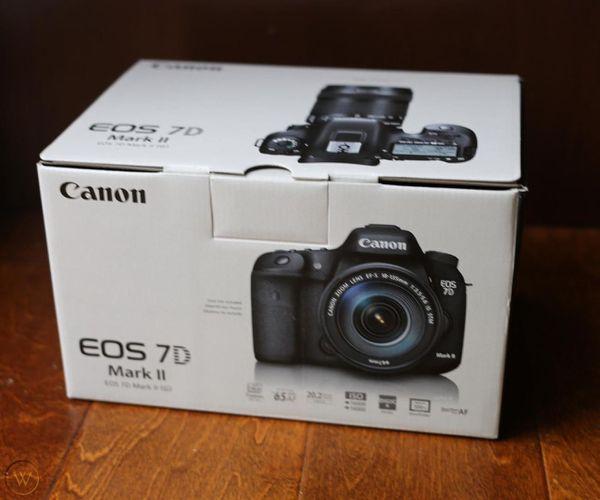 Canon EOS 7D Mark II 20.2MP Digital SLR Camera Body
