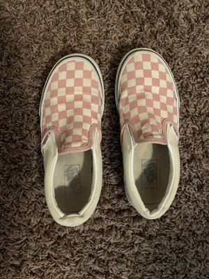 Pink Vans (size 13 US kids) for Sale in El Paso, TX