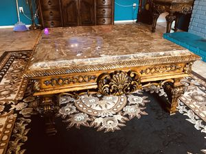 marble coffee table for Sale in Fontana, CA
