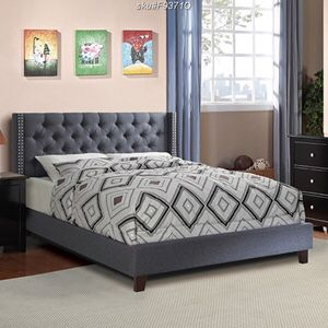 Queen bed frame with mattress (free delivery) for Sale in Dallas, TX