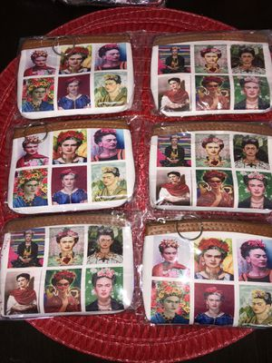 Frida Kahlo coin pouches $1 each for Sale in Lakewood, CA