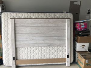 Headboard with rails & Queen mattress for Sale in Andice, TX
