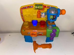 Fisher Price Laugh and Learn Learning Workbench for Sale in Waynesboro, VA