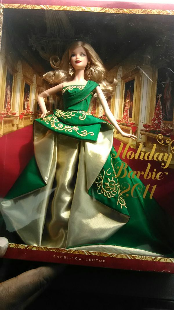 New holiday Barbie 2011