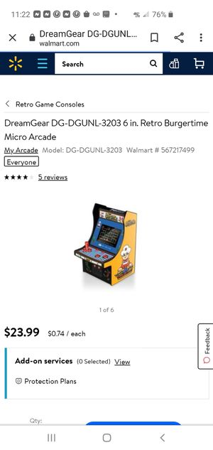 Arcade game for Sale in Jacksonville, FL