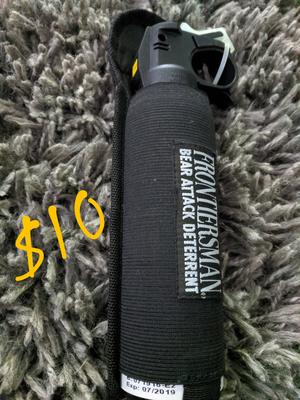 Frontiersman Bear Spray Deterrent for Sale in Deer Park, WA