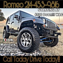 2013 JEEP WRANGLER for Sale in Fort Worth,  TX