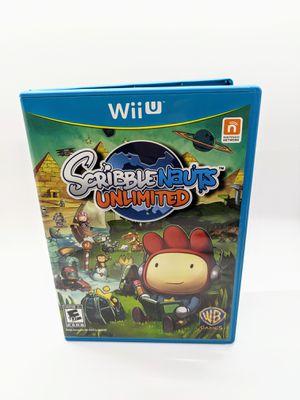 Scribble Nauts Unlimited Nintendo Wii U for Sale in Pompano Beach, FL