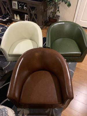 New barrel chairs for Sale in San Gabriel, CA