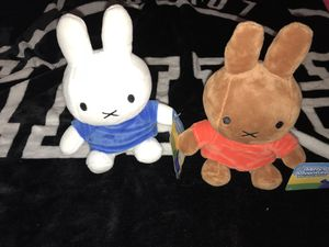 Miffy Plushies stuffed animals for Sale in West Springfield, VA
