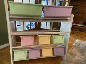 Kids toy storage organizer for Sale in Gaithersburg, MD