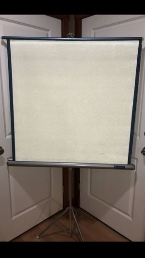 Vintage Projector Screen for Sale in Snohomish, WA