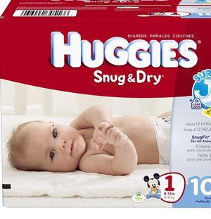 Huggies & Pampers diapers for Sale in American Fork, UT