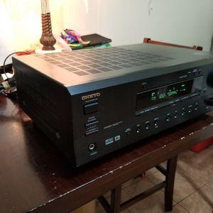 275 Watt 5.1 Channel Basic Onkyo Reciever for Sale in Staten Island, NY