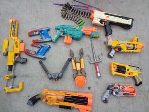 Nerf gun lot for Sale in Jurupa Valley, CA