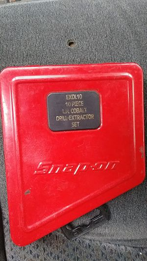 Snap on drill extractor set for Sale in Everett, WA