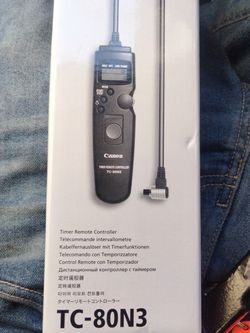Canon Tc-80n3 Timer Remote Control BNIB for Sale in San Francisco,  CA