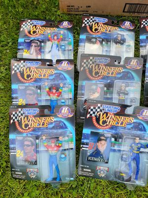 1998 Nascar Starting Lineup Winners Circle Action Figures for Sale in Tacoma, WA