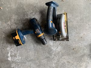Cordless Ryobi Drill and Saw for Sale in Jamestown, RI