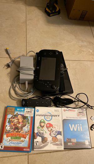 Nintendo Wii U bundle for Sale in Miami, FL