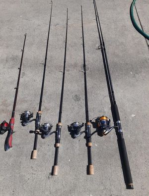 Fishing poles for Sale in Anaheim, CA