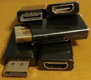 DP to HDMI, adapter ( audio & video captable ) each. {url removed}.Male or {url removed}Female. for Sale in Sun City, AZ