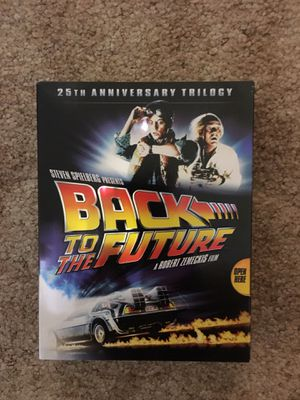 Back To The Future 1,2,3. DVD's Collection for Sale in Harrisonburg, VA