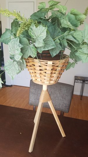 Fake plant with stand for Sale in Dublin, OH
