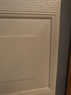 (4) 2 car garage door panels size is 16 x 9 standard two car garage door panels for Sale in Fresno, CA