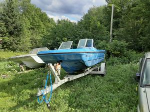 1973 silverline with 85 hp force for Sale in Lee, ME