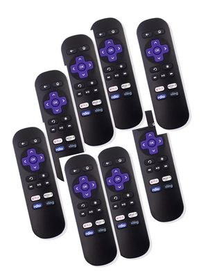 New Lot of 40 ROKU Replacement Remotes w/ NETFLIX/Amazon/Radio/Sling Shortcut Buttons for Sale in San Diego, CA